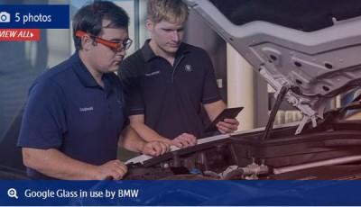 Uji Kualitas Produksi Mobil, BMW Gunakan GoogleGlass