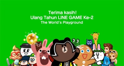 LINE Gelar Ajang 'LINE GAME Thanks You for 2 Years!