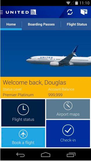 United Airlines Sediakan Aplikasi Hiburan Gratis PenggunaAndroid