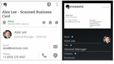 Update Evernote Android, Kini Bisa Scan KartuNama!